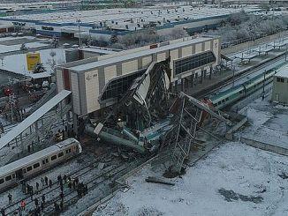 tcdd कैलिसानी अनारकरा में ट्रेन दुर्घटना के कारण की घोषणा करता है