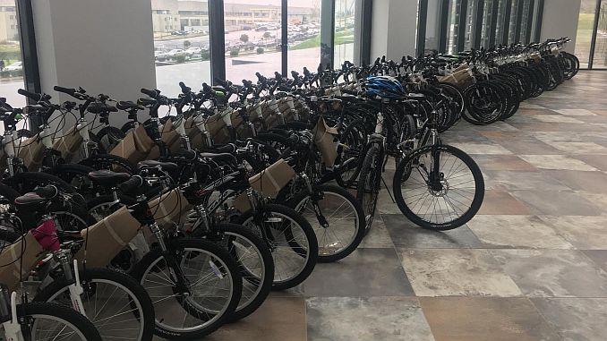 torende mujdelenen 300 bisiklet talihlilerini buldu