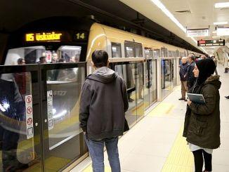 turkiyenin primeiro metro sem condutor nos anos 1