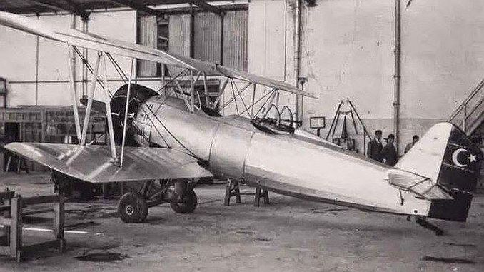 turkiyenin ilk ucak fabrikasi kayseri teyyare fabrikasi