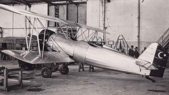 प्रथम विमानाचा कारखाना turkiyenin विमान कारखाना केसरी