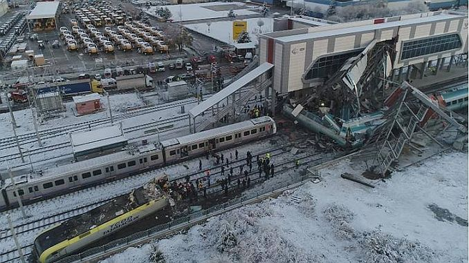 transport and infrastructure ministry cahit turhandan on the train accident 2