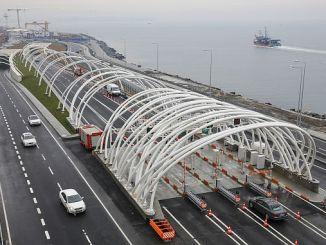 8 1 million vehicles don't use Eurasia tunel