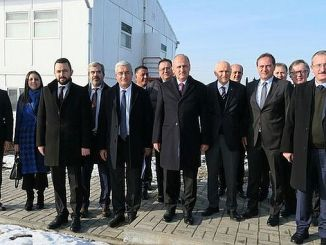 Minister Turhan bezocht het centrum van het project
