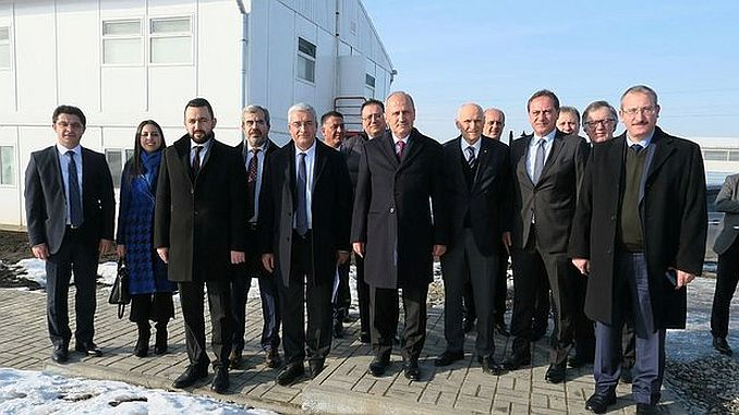 Minister Turhan visited the center of the project