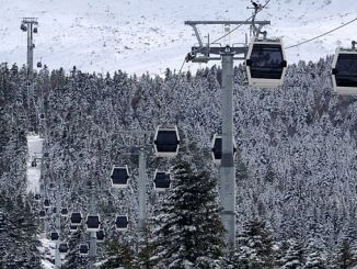 bursalilar attention uludag ropeway closed today