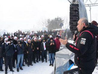 grande interesse per il festival della neve di Cambasi