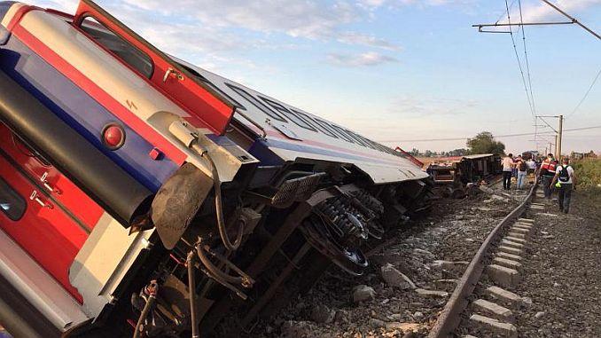 çorlu Train Disaster Arrives Rayhaber
