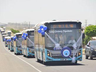 Диярбакыр подписал важные услуги в большом городском транспорте