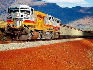dunyanins första tågrobot i Australien
