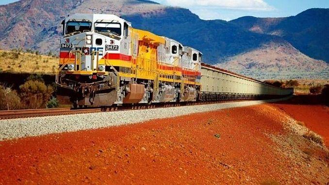 dunyanin პირველი მატარებელი რობოტი ავსტრალიაში