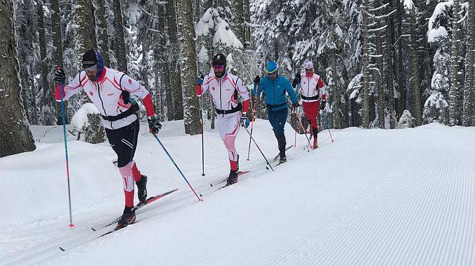back to the skiing kisu fis coupe starts