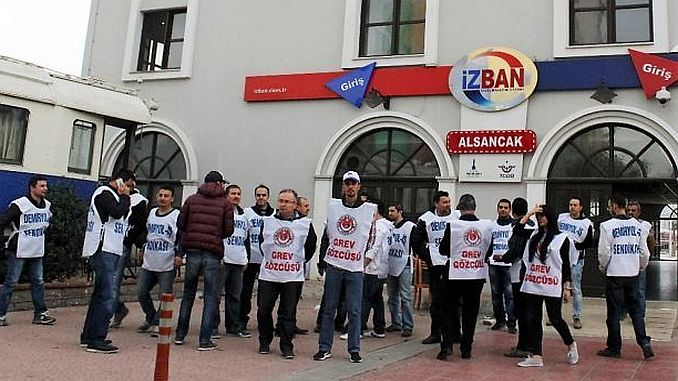izban strike strike politics