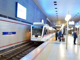 قبلت XMUMX ارتفاع في مترو الانفاق ازمير كما هو متفق عليه