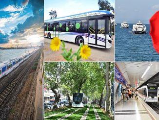 Миллион пассажиров 520 переехал на общественном транспорте в Измире