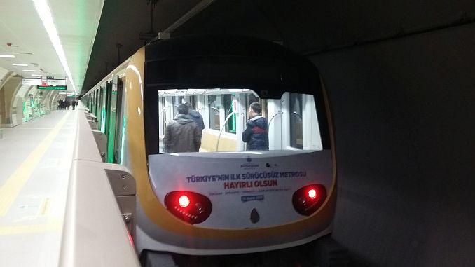 kabatas mahmutbey metro hattinda test surusleri basliyor