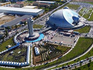 konya science center 1 million 225 engaged thousand science enthusiasts