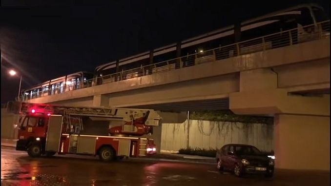 fire in tramway