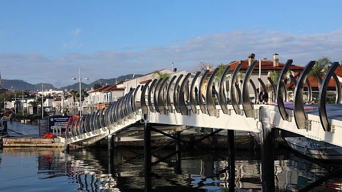 marmaris limani ile kisayaliyi birlestiren kopru yeniliyor