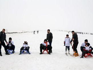 Nyd skiløb af børn med autisme