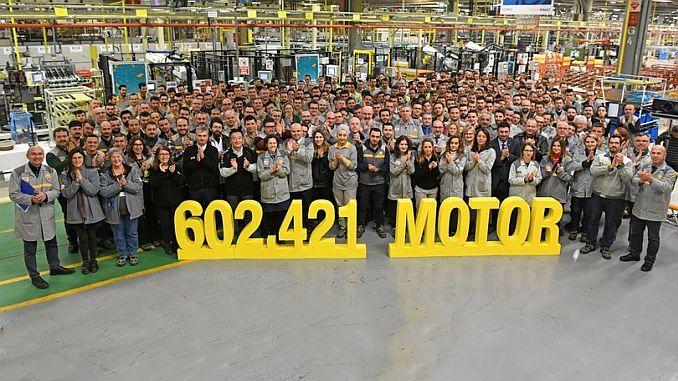 produción de motores