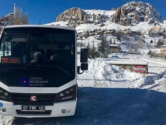 additional free bus service to Saklikent ski center