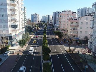 sinanoglu street is comfortable and modern transportation