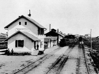 14 1920 french furnace history hangs today in rumeli railways