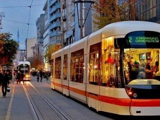 water interruption in Eskisehir due to tram runs 1