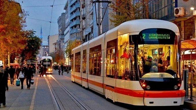 water interruption in Eskisehir due to tram runs 1