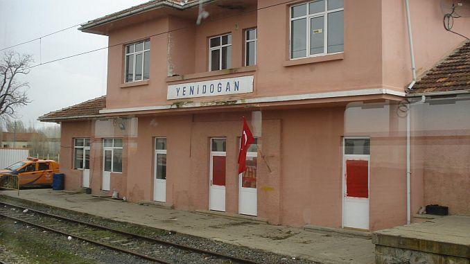 new platform for the passenger station
