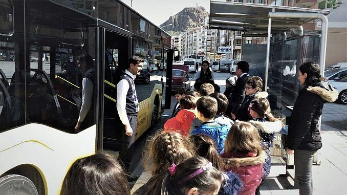 mass transportation training for children in afyonkarahisarli