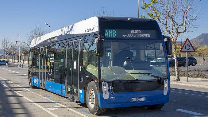 Sistema de transporte eléctrico alstomun en aptis.