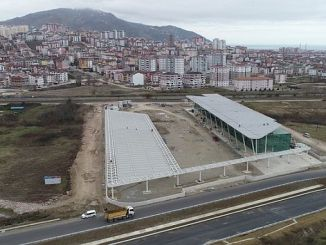 Altinordu Otobus Terminal construction continues without losing speed