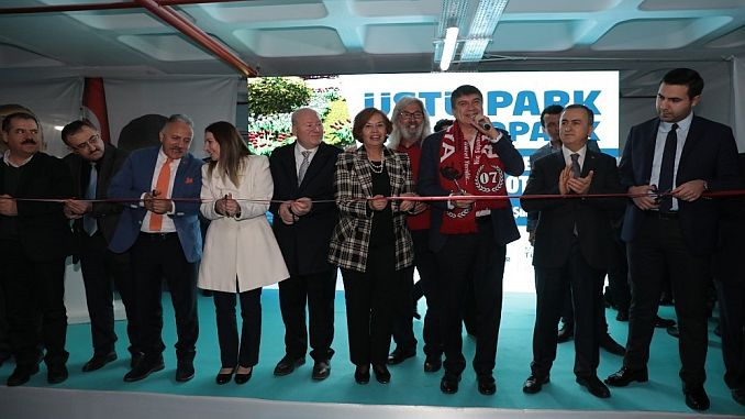 antalyanin en cevreci parking lot is put into service