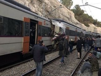 1 100 wounded two trains