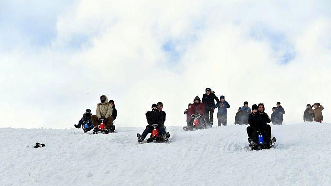 gëzimi i skijimit