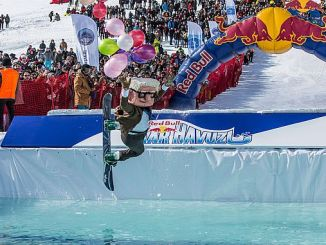 great interest in red bull snow pool