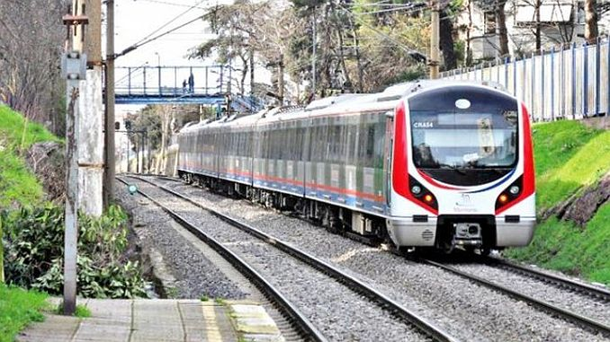 signaling tests in the train line of the gebze ring
