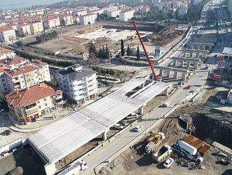 Golcuk Yuzbasilar Kavsaginin Kinesi put in place