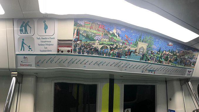 Halkalı گیبز مارمری ٹرینوں پر پھانسی کے نشانات 43