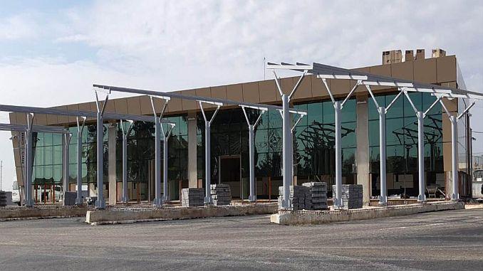 Preparing for Harran Bus Terminal