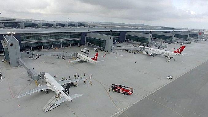 El aeropuerto de Estambul 3 anualmente 187 bin 553 u curdu