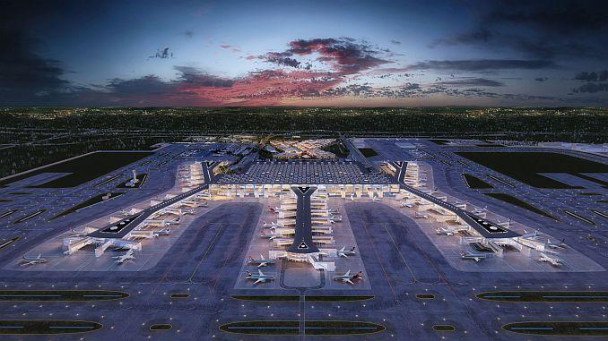 istanbul airport parking lot until April