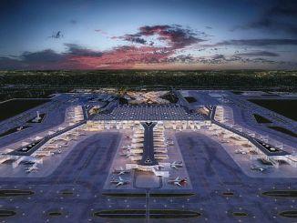 Britannien Alarm am Flughafen Istanbul