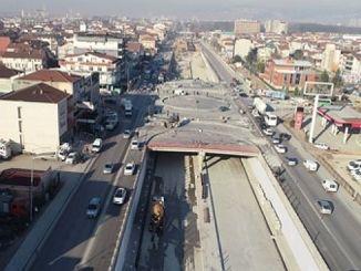 asphalt pavement started in kosekoy