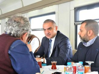 culture and tourism minister traveled with ersoy dogu express