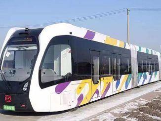 North Elf: premier tramway électrique intelligent achevé