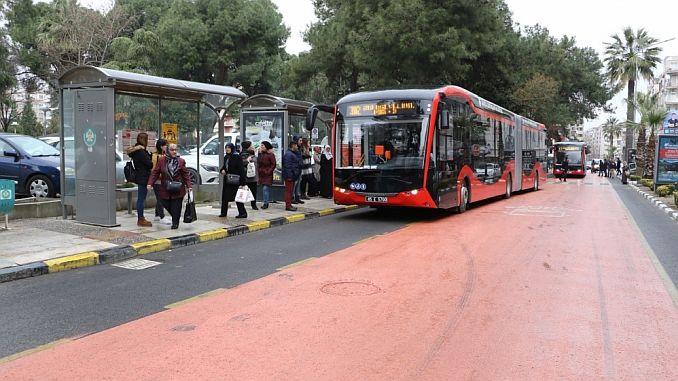 testis i autobusit elektrik