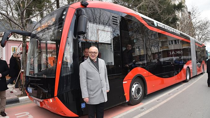 testis of electric buses continue